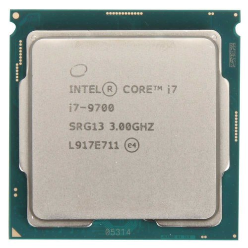CPU Intel I7 (9700) 9th Generation