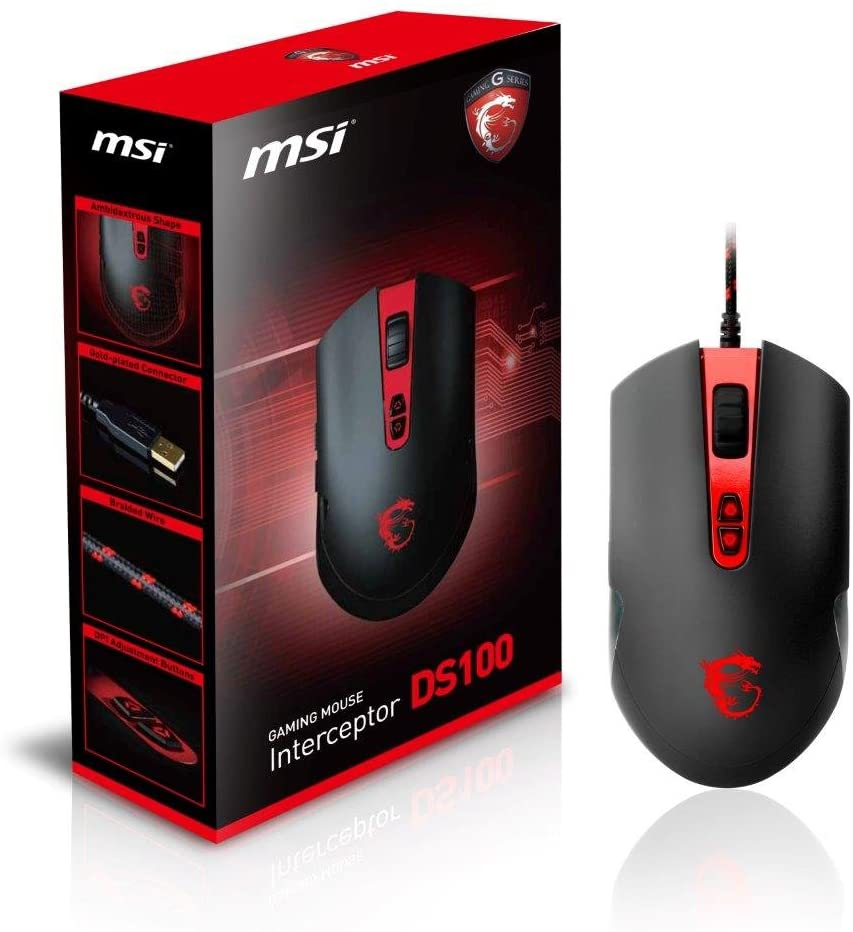 MSI DS100 Gaming Mouse
