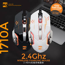 R8 Gaming Mouse 1710A Wireless Charging
