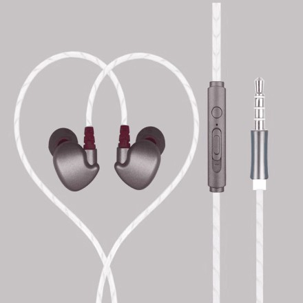 Exquisite Sport In-Ear Phone (Space Grey)