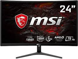 MSI Optix G241VC Curved Monitor 24""
