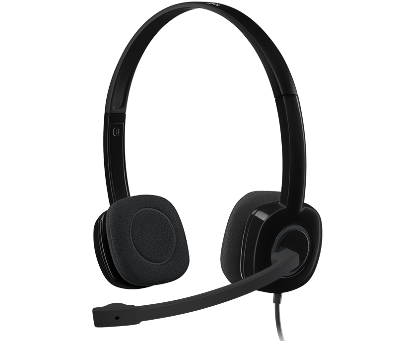 Logitech H151 Wired Head Phone