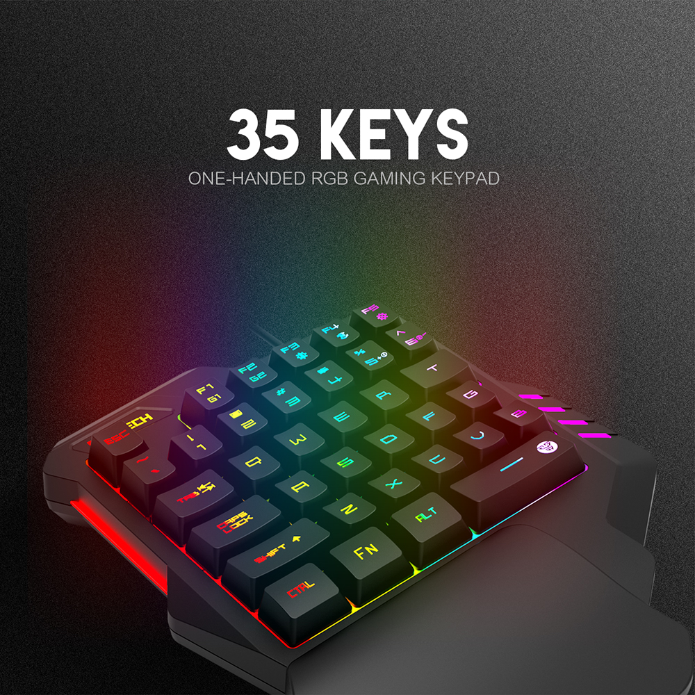 Fantech K512 Wired One Handed Gaming Keyboard